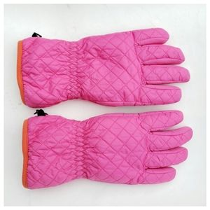 Lands' End Quilted Ski Gloves - L